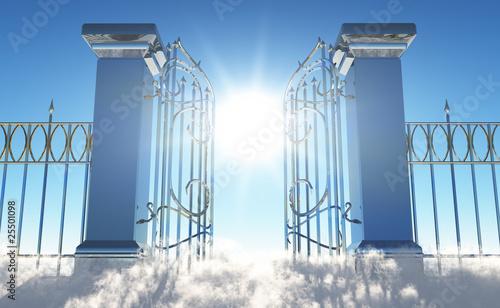 Doppelrollo mit Motiv - Heavens Gate