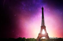 Eifel Tower Milky Way - Paris (France)