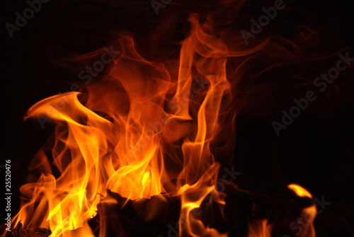 Poster Fire / Flame Flammes 4