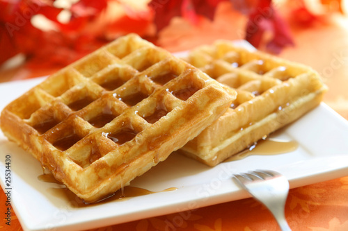 Fotografía  Waffles