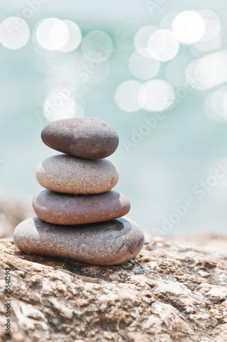 Foto op Plexiglas Stenen in het Zand stone