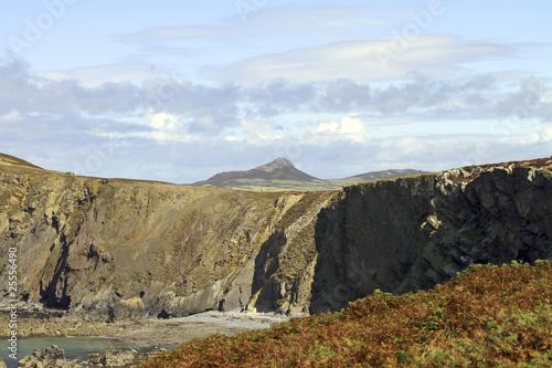 Ramsey Island Pembrokeshire Wales UK Canvas Print