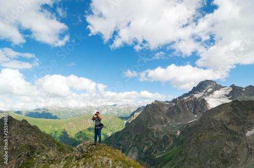 Fototapeta hiking obraz na płótnie