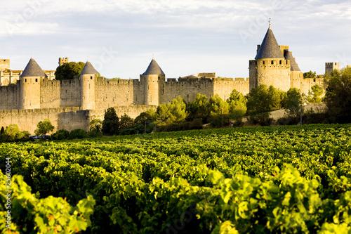 Fotografia  Carcassonne, Languedoc-Roussillon, France