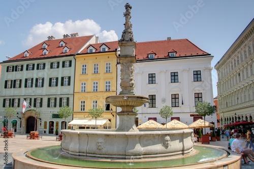 Photo  place centrale de Bratislava