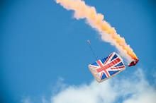 British Union Flag Parachute Canopy