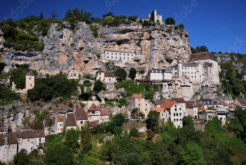 Foto op Plexiglas Historisch geb. Tourisme au village de Rocamadour