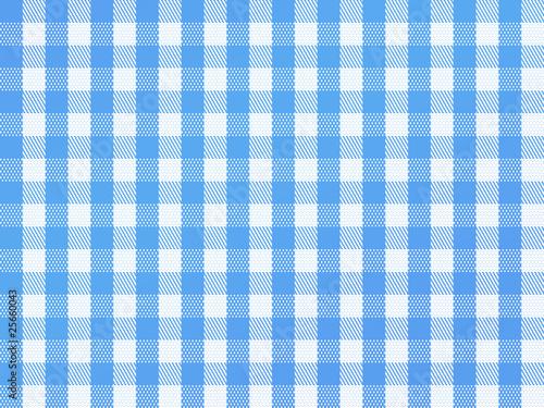 Fotografie, Obraz  Checkered Bavarian Blue