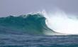vague vierge aux Maldives