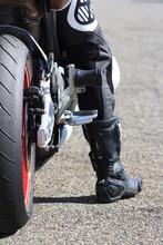Moto Et Motard