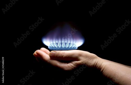 Fotografía gas
