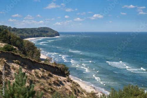 Plakaty krajobraz widok-na-morze-baltyckie