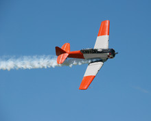 Aerobatic Demonstration With Open Cockpit