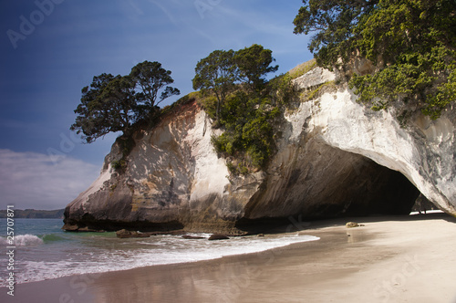 Foto op Canvas Cathedral Cove Cathedral Cove on the Coromandel Peninsular in New Zealand.