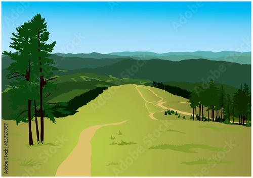 Fototapeta landscape obraz na płótnie