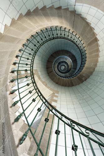 wysokie schody latarni morskiej