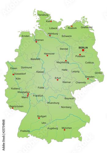 Karte Deutschland Vektor Buy This Stock Vector And Explore