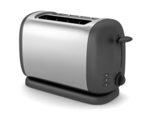 Toaster Isolated On White Back...
