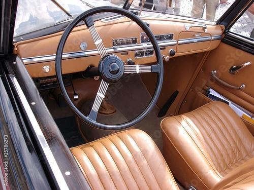 Foto op Plexiglas Vintage cars Oldtimer - Ausstattung
