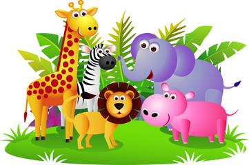 Slatka životinja Afrika