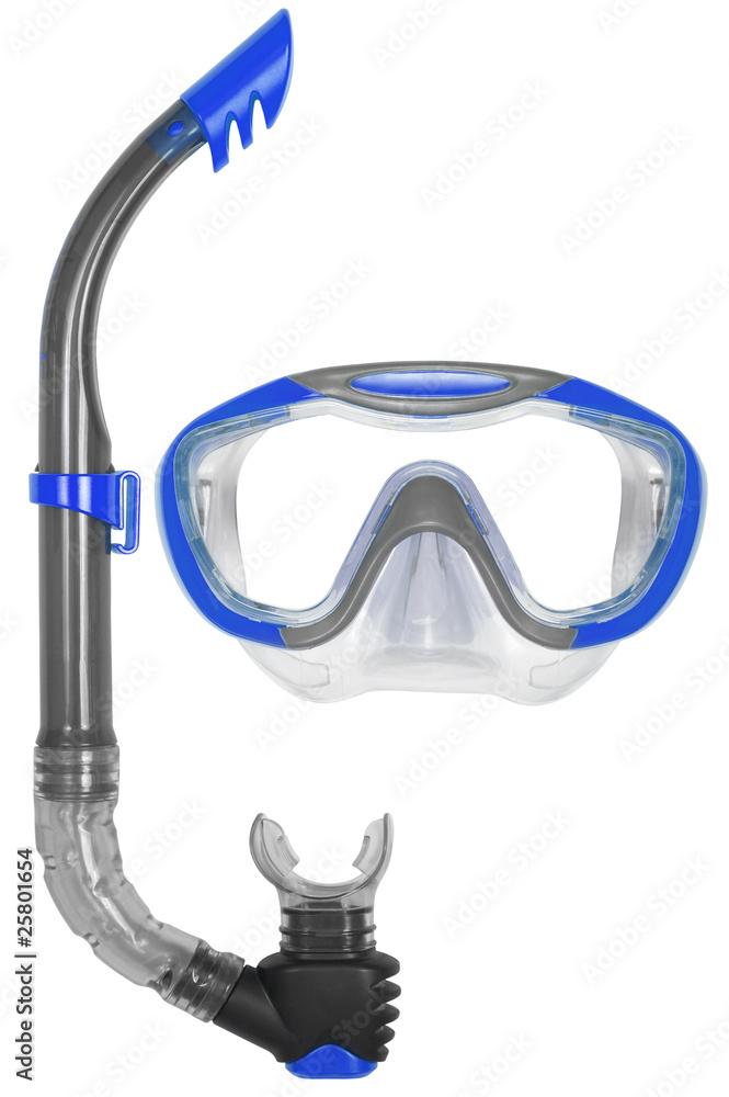 Fototapeta Snorkel and Mask for Diving