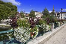 France; 79; Niort : Pont Fleur...