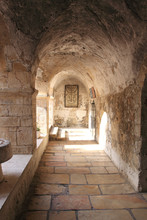 Ancient Alley In The Jewish Quarter, Jerusalem, Israel