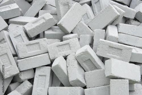 Fototapety, obrazy: Fly ash eco friendly bricks controls environmental pollution
