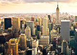 Fototapeta City - Skyline von New York