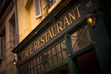 Obraz na Szkle Do restauracji Café Restaurant