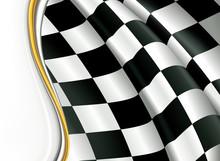 Horizontal Checkered Background