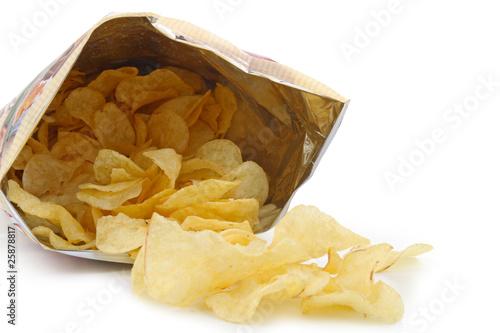 Fotografía  sachet de chips