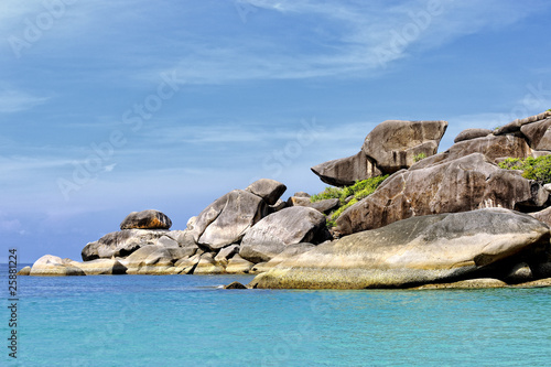 Photo  Rocher de Donald aux îles Similan, Thaïlande