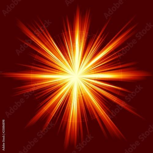 Obraz Light burst, fireworks, lens flare - fototapety do salonu