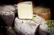 Italienischer Käse auf einem Markt