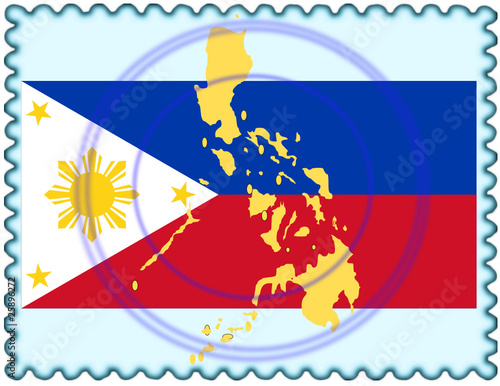 3f905c0f9525d Philippines map flag stamp - Buy this stock vector and explore ...