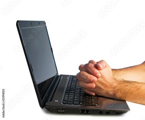 Fotografija  Pray on your computer