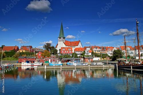 Photo  Harbour Roenne Bornholm Island denmark