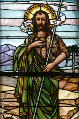 Leinwand Poster Saint John the Baptist