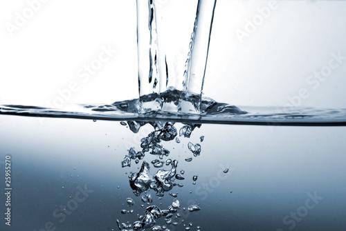 Fotografie, Obraz  Wasser ist Leben