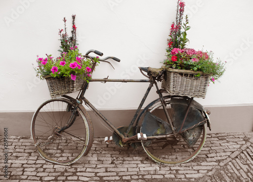 Türaufkleber Fahrrad bicycle