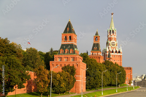 Wall Murals Moscow Kremlin on the Red Square