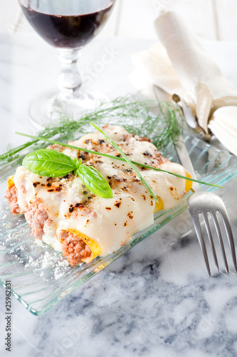 Recess Fitting Appetizer cannelloni ragout-cannelloni al ragu