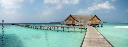 Photographie Overwater Villa on the lagoon