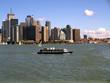 City on the lake