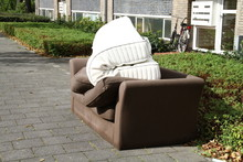 Old Couch On The Street