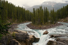 Sunwapta Waterfalls In Jasper ...