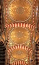 Innenraum Von Notre-Dame De La Garde In Marseille