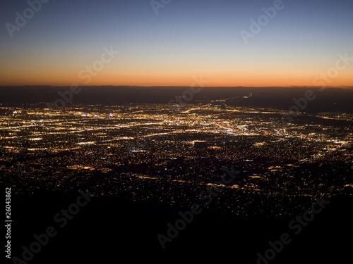 Photo North American Cities - Albuquerque Sunset