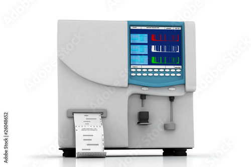hematology analyzer Wallpaper Mural